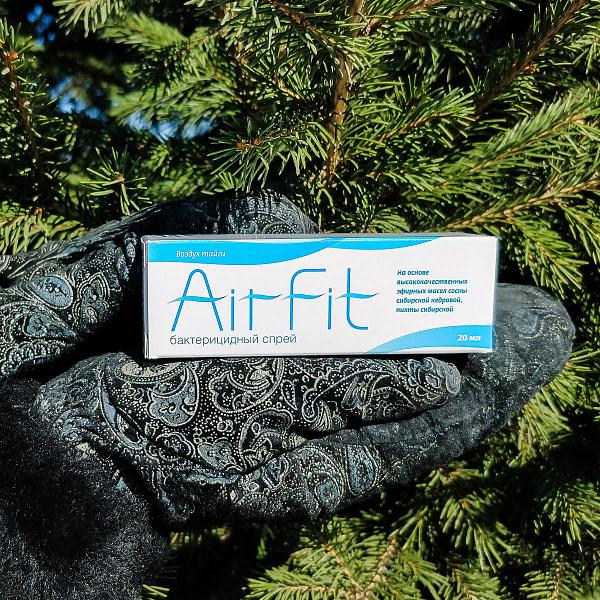 Бактерицидный спрей AirFit кедр + пихта