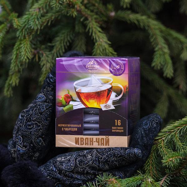 Иван чай пакетированный с чабрецом