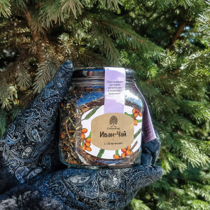 Иван-чай с облепихой 80 гр / стекло