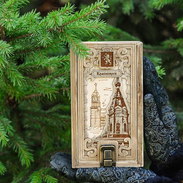 Пенал подарочный с замком