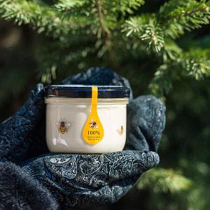 Крем-мед с сосновой шишкой 220 гр