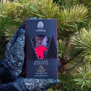 Тёмный шоколад с Сибирской клюквой