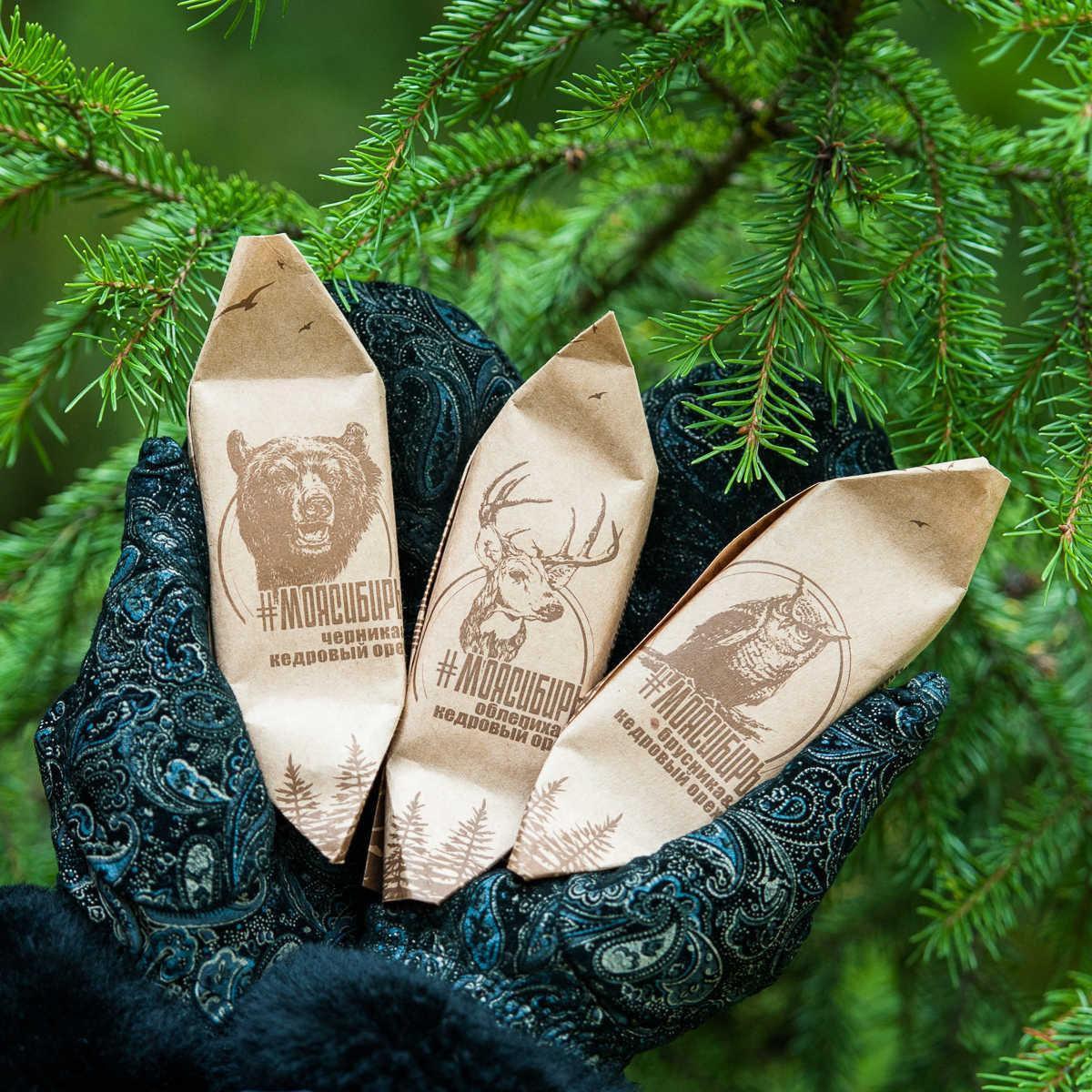 Конфета шоколадная Моя Сибирь Слаткарница Абакан