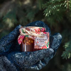 Кедровый орех в сиропе из шиповника 200 мл