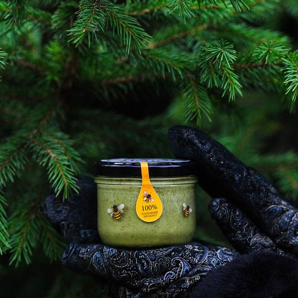 Крем-мёд с хвоей
