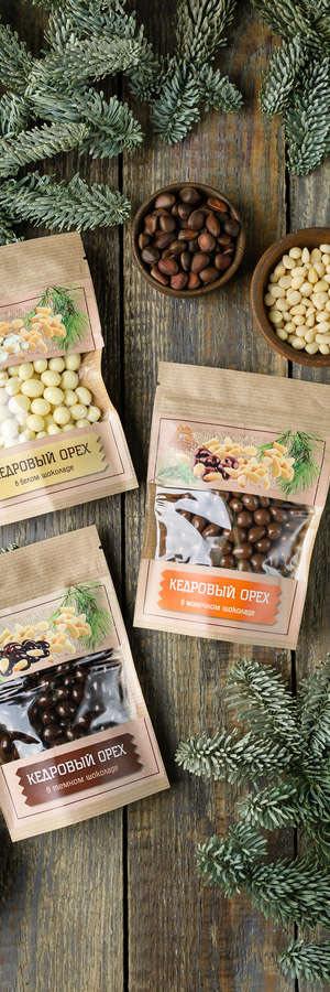 """konfety s kedrovym orehom - Сибирские подарки в """"Таёжной Лавке"""""""
