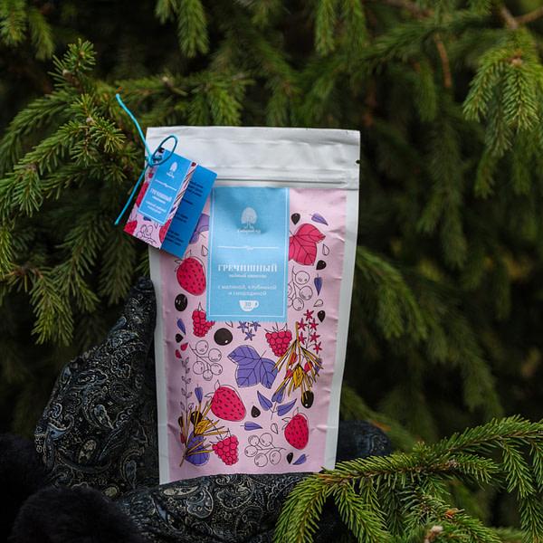 Чайный напиток Гречишный с лесными ягодами 150 гр