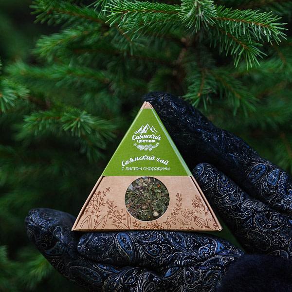 Саянский чай с листом смородины 20 гр