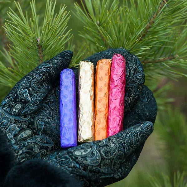 Конфеты кедровые палочки ассорти