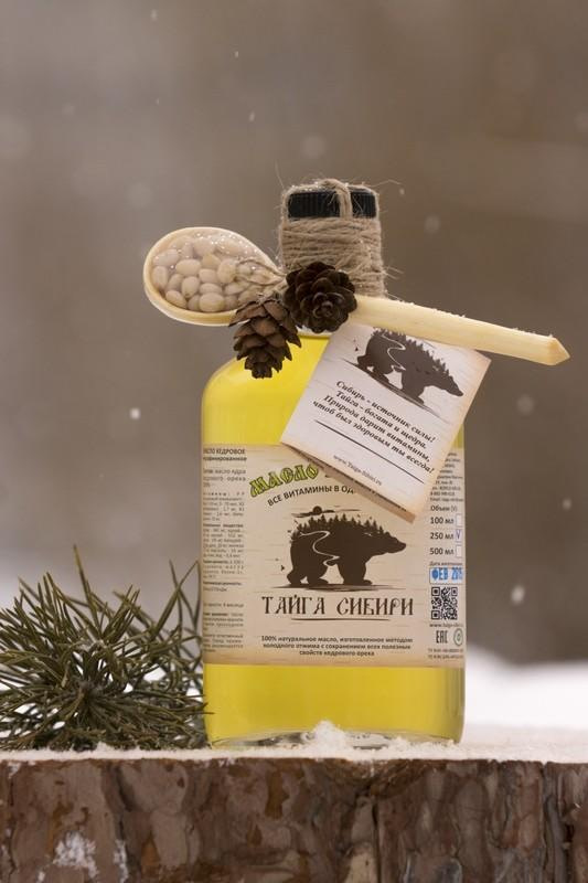 кедровое масло сделано в сибири