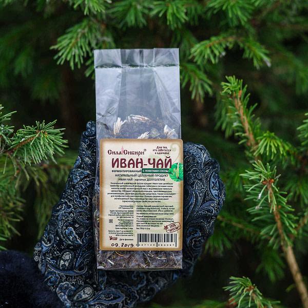 Иван чай ферментированный с побегами сосны 50 гр
