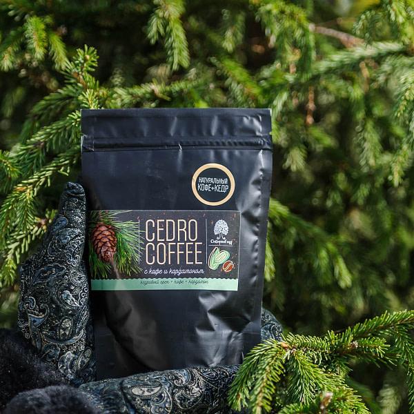 Кедрокофе с кофе и кардамоном