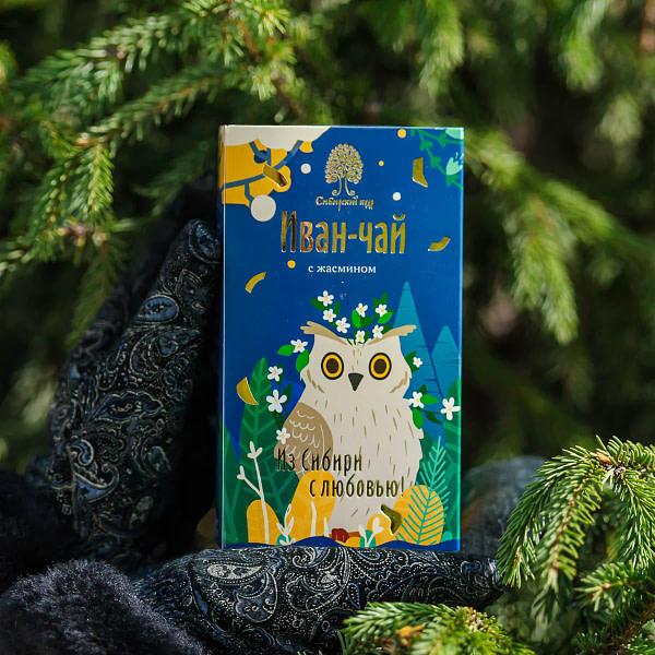Иван чай пакетированный с жасмином