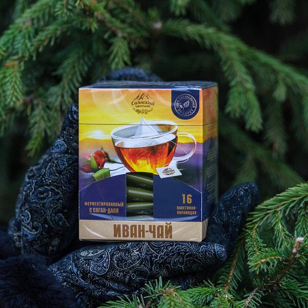 Иван чай пакетированный с саган дайля