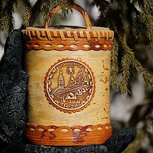 Tuesok iz beresty Krasnoyarsk 1628 - Самые интересные подарки из Сибири: где их искать?