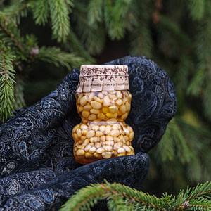 Таёжный мёд с кедровыми орешками 100 мл