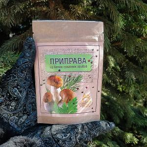 Приправа из белых сушеных грибов  30 гр