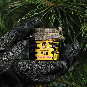 Мёд цветочный с миндалём 210 гр