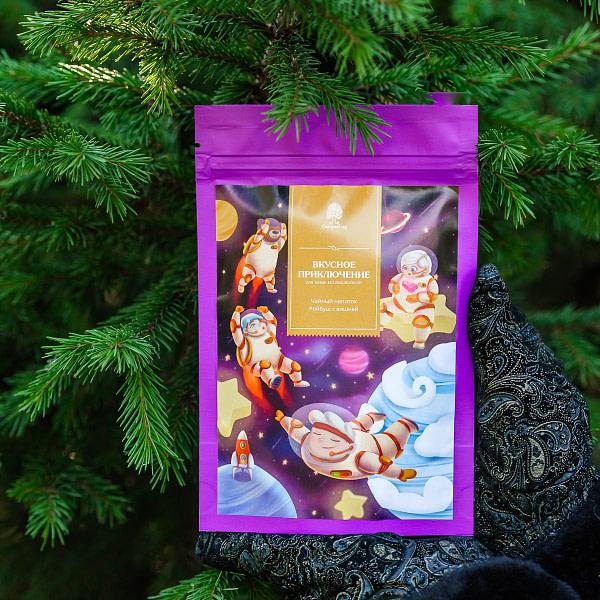Чай детский «Вкусное приключение» ройбуш с вишней