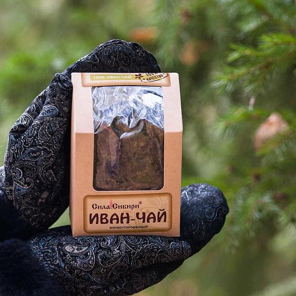"Иван чай ферментированный без добавок ""Сила Сибири"" 100 гр"